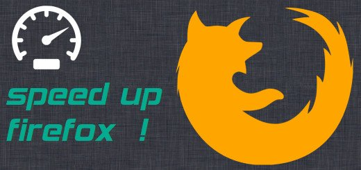Speed up firefox with RAM cache and tmpfs Linux